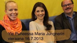 Yle Puheessa Maria Jungnerin vieraana